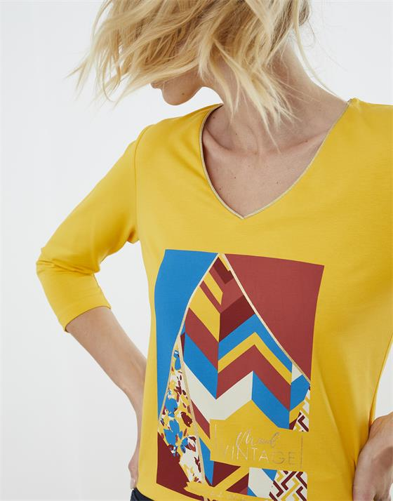 T-Shirt longueur standard  imprimé