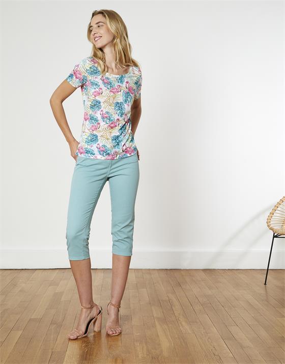 T-Shirt longueur standard  imprimé animal